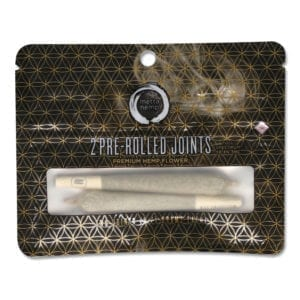 Pre-Rolled Hemp Joints (2 Pack)